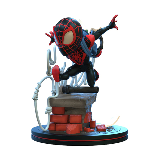 FIGURA QFIG ELITE MARVEL SPIDERMAN MILES MORALES