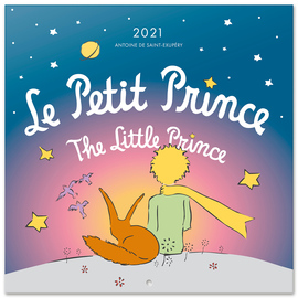 CALENDARIO 2021 30X30 THE LITTLE PRINCE