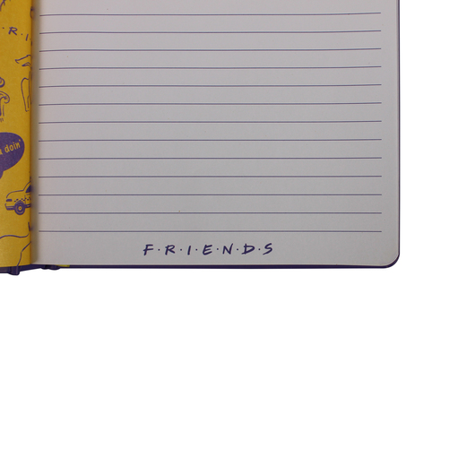 CUADERNO A5 FRIENDS THE ONE WITH THE