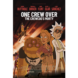 POSTER RICK & MORTY SEASON 4 ONE CREW