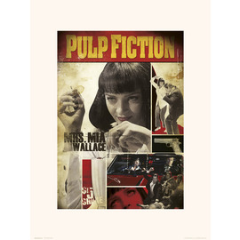 PRINT 30X40 CM PULP FICTION MIA