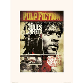 PRINT 30X40CM PULP FICTION JULES