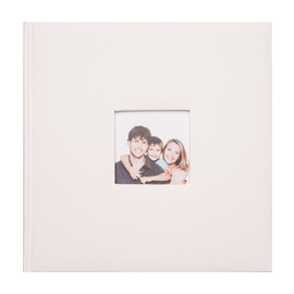 ALBUM FOTO TRADICIONAL 24X24CM 40 PAGINAS OFF WHITE 11