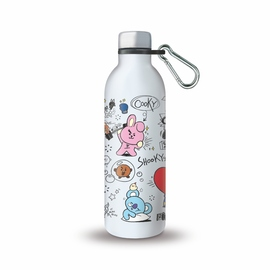 BOTELLA METÁLICA HOT&COLD 500ML BT21