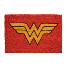 FELPUDO DC COMICS WONDER WOMAN LOGO