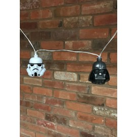 LUCES STAR WARS STORMTROOPER Y DARTH VADER