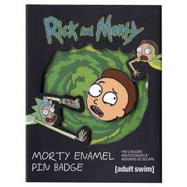 PIN BADGE RICK & MORTY MORTY