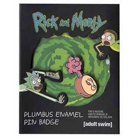 PIN BADGE RICK & MORTY PLUMBUS