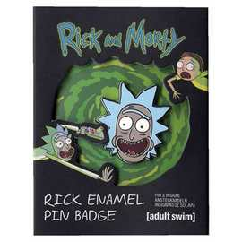 PIN BADGE RICK & MORTY RICK
