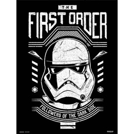 PRINT 30X40 CM STAR WARS EPISODIO IX FIRST ORDER