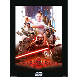 PRINT 30X40 CM STAR WARS EPISODIO IX ONE SHEET 1