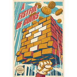 POSTER A FISTFUL OF COINS