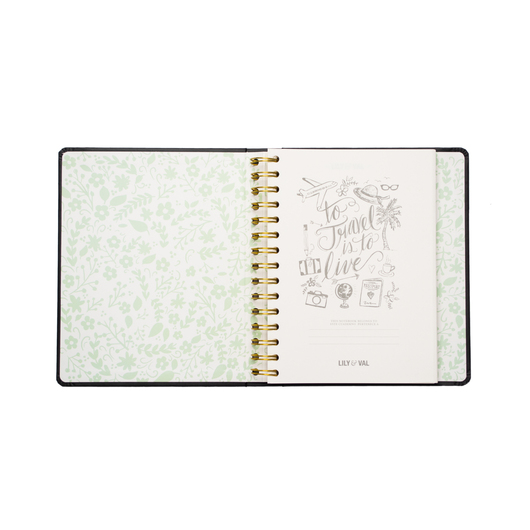 NOTEBOOK PREMIUM A5 SPINE WIRE-O LILY & VAL