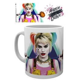TAZA HARLEY QUINN BIRDS OF PREY