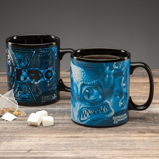 TAZA TERMOCOLORA DUNGEONS AND DRAGONS