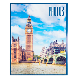ALBUM FOTO SOFT 96 BOLSILLOS 13X20CM LONDON