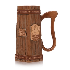 TAZA THE LORD OF THE RINGS PRANCING PONY COLECCIONABLE