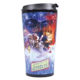 TAZA DE VIAJE METALICA STAR WARS THE EMPIRE STRIKES BACK