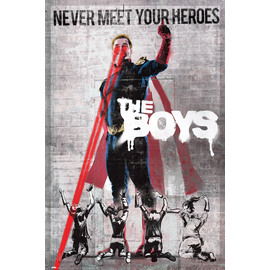POSTER THE BOYS NEVER MEET YOUR HEROES