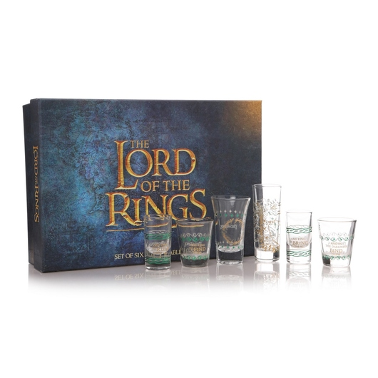 SET DE VASOS THE LORD OF THE RINGS