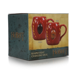 TAZA 3D TERMOCOLORA THE HOBBIT SMAUG