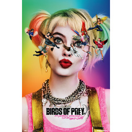 POSTER BIRDS OF PREY DAZED AND CONFUSED