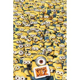 Maxi Poster Despicable Me 2 (Many Minions)