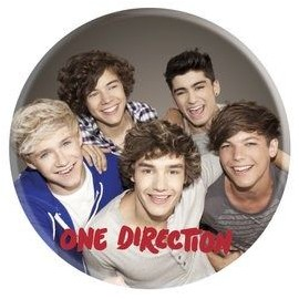 Chapa Individual One Direction - Group