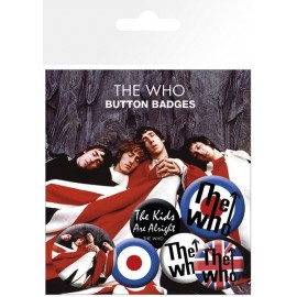 Sheet pack The Who Lyrics And Logos