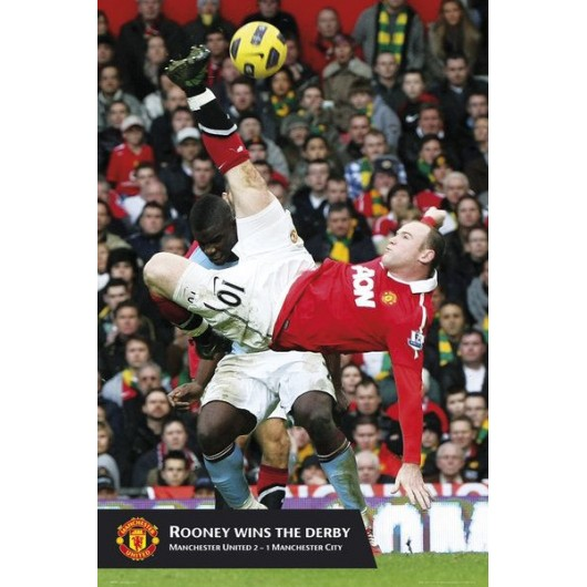 Maxi Poster Manchester United Rooney Goal (Dinam)