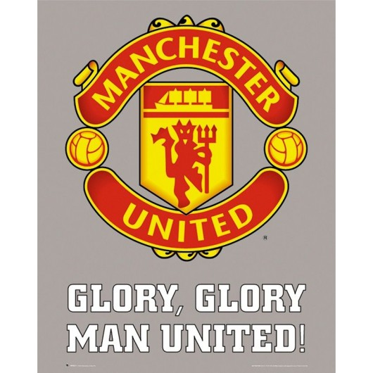 Mini Poster Manchester United - Club Crest