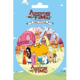 Autocollant Vinyle Adventure Time Group