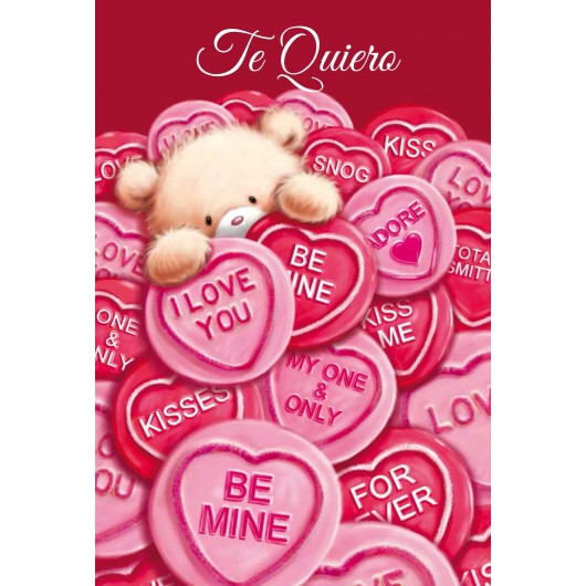 Greeting card Te Quiero