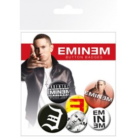 Badge Pack Eminem Logo