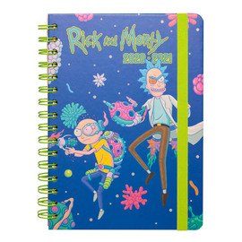 AGENDA ESCOLAR 2020/2021 A5 12 MESES RICK & MORTY