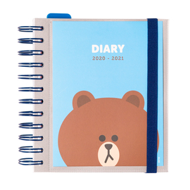 AGENDA ESCOLAR 2020/2021 DP M LINE FRIENDS