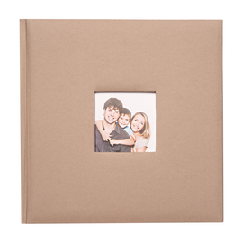 ALBUM FOTO TRADICIONAL 24X24CM 40 PAGINAS LIGHT GRAY 67