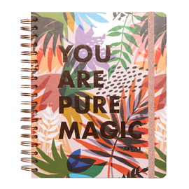 AGENDA ESCOLAR 2020/2021 SV WIRE-O ING BIG SIZE YOU ARE PURE MAGIC BY KOKONOTE