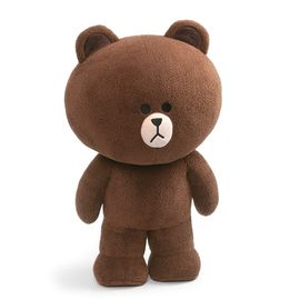 PELUCHE LINE FRIENDS BROWN 23