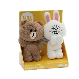 PELUCHE LINE FRIENDS BROWN CONY 4.5