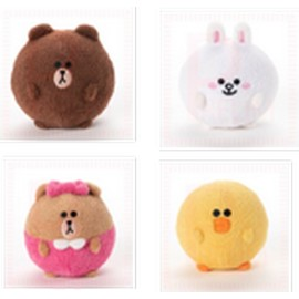 PELUCHE LINE FRIENDS SLOW RISE FOAM