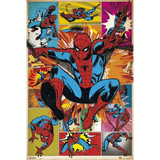 Maxi Poster Spiderman Comic Clasic