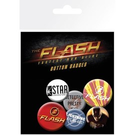 PACK CHAPAS DC COMICS THE FLASH MIX