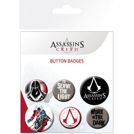 PACK CHAPAS ASSASSINS CREED MIX