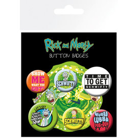 PACK CHAPAS RICK Y MORTY FRASES