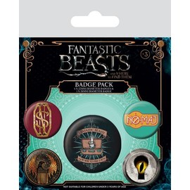 SET CHAPAS ANIMALES FANTASTICOS