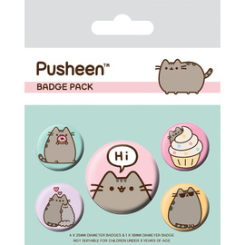 SET CHAPAS PUSHEEN SAYS HI