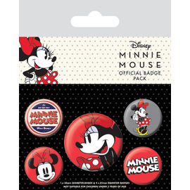 SET CHAPAS DISNEY MINNIE MOUSE ROJO