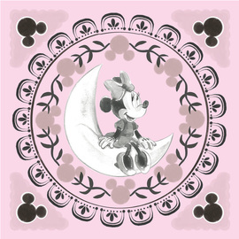 CANVAS 30X30 CM DISNEY MINNIE MOON