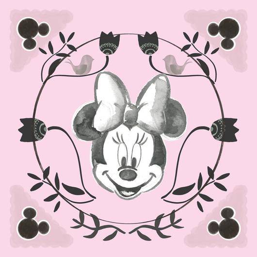 CANVAS 30X30 CM DISNEY MINNIE HAPPY